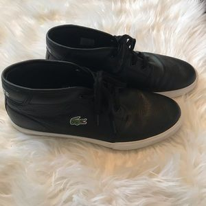 Lacoste Shoes - Lacoste Ampthill Mid Top Sneakers 10.5